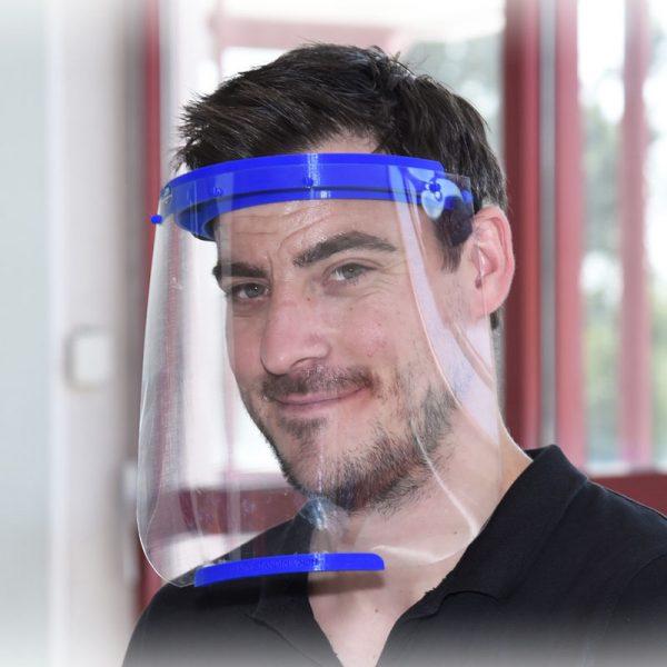 Gesichtsschutz Visier, klare Sicht, freies Atmen