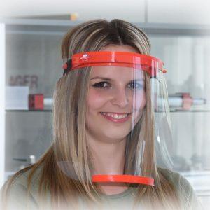 Gesichtsschutz Visier klare Sicht freies Atmen