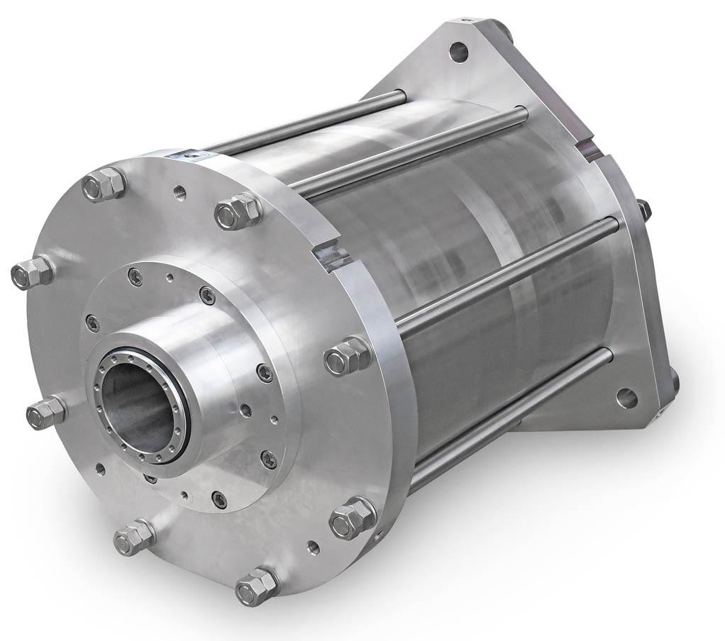 Edelstahl-Grosszylinder ITER