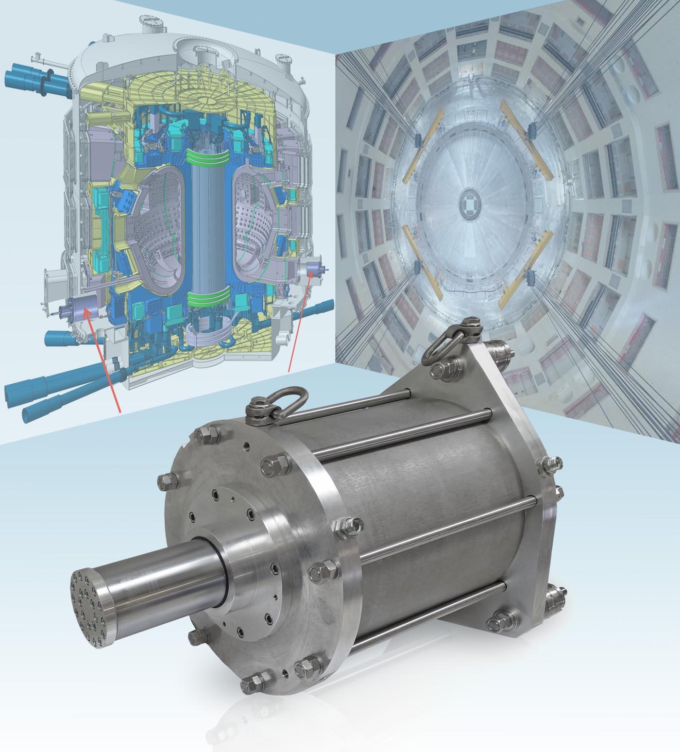 KONSTANDIN-Zylinder für ITER